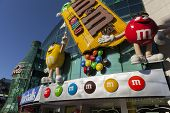 M&m World In Las Vegas, Nv On May 20, 2013