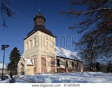 Church Of Sts. Jacob In Oliwa