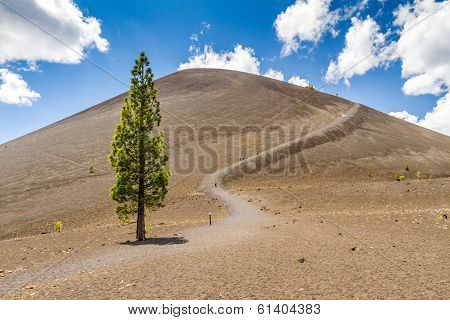 Cinder Cone in Lassen Volcanic National Park
