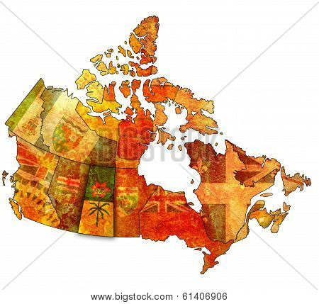 Saskatchewan On Map Of Canada