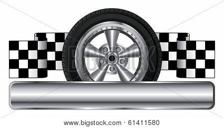 Wheel Logo Design