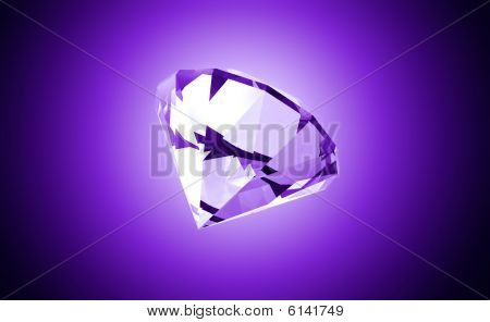Precious Purple Gemstone