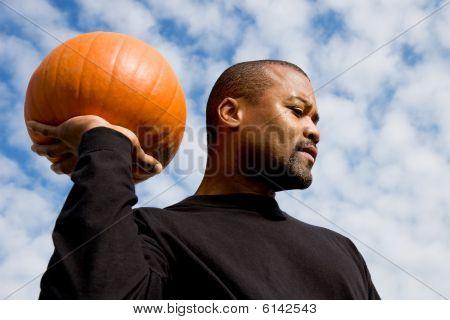 Palmed Pumpkin