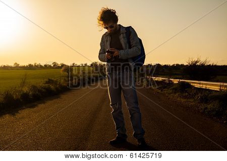 Traveling with Smartphone