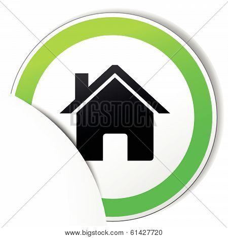 Vector Home Paper Icon