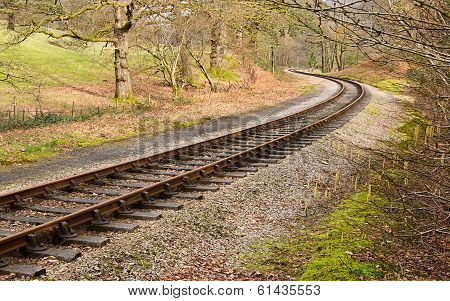 Rail Tracks S Curve