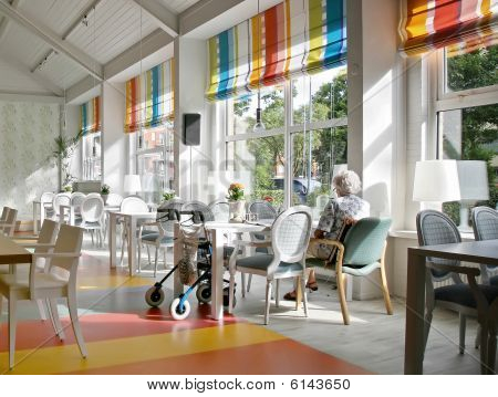 Cafe In Elderly House