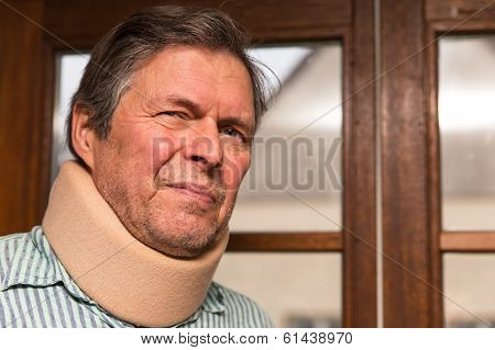 Senior Adult With Neck Pain