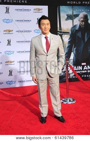LOS ANGELES - MAR 13:  Chin Han at the