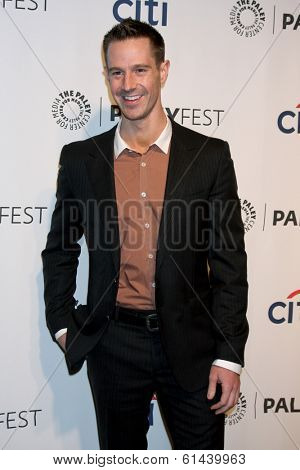 LOS ANGELES - MAR 13:  Jason Dohring  at the PaleyFEST Vernoica Mars Event at Dolby Theater on March 13, 2014 in Los Angeles, CA