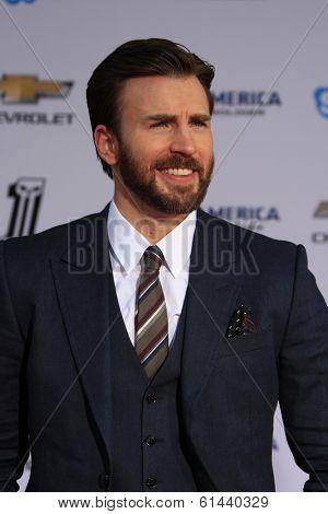 LOS ANGELES - MAR 13:  Chris Evans at the