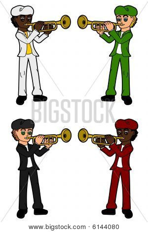 Collection of trumpetists
