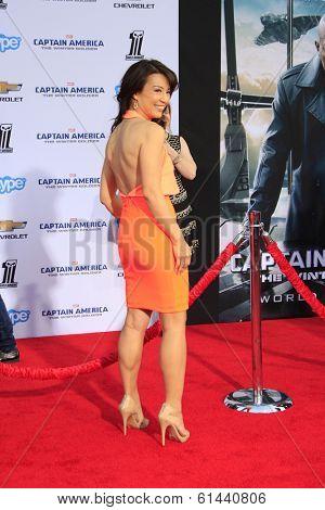 LOS ANGELES - MAR 13:  Ming-Na Wen at the