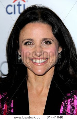 LOS ANGELES - MAR 11:  Julia Louis-Dreyfus at the Television Academy's 23rd Hall Of Fame Induction Gala at Beverly Wilshire Hotel on March 11, 2014 in Beverly Hills, CA