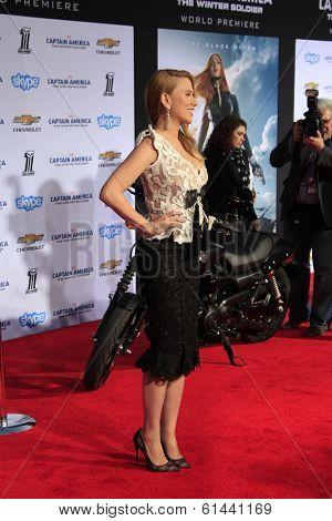 LOS ANGELES - MAR 13:  Scarlett Johansson at the