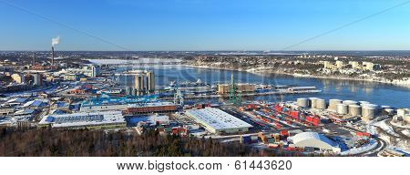 Stockholm Panorama Port