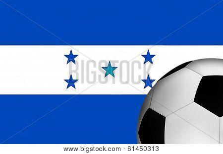 Soccer Honduras Flag