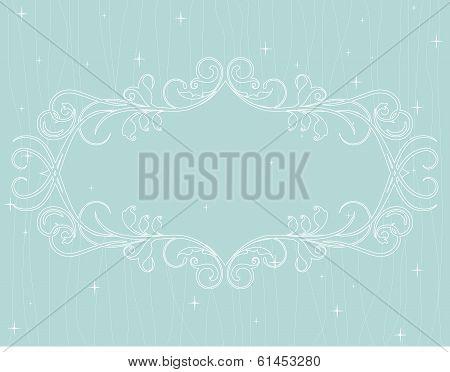decorative card frame