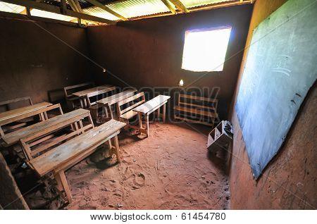 African Elementary School Classroom