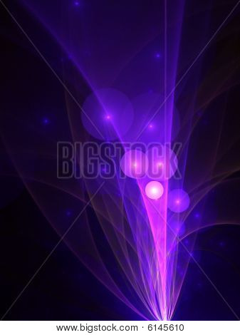 PurplePink Bubbles Explosion - fractal design