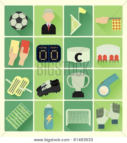 Flat Icons Soccer