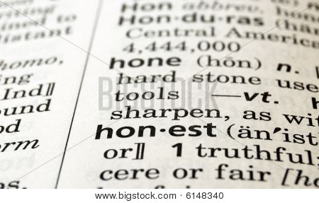 Honest Defined