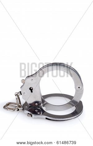 closeup of handcuffs