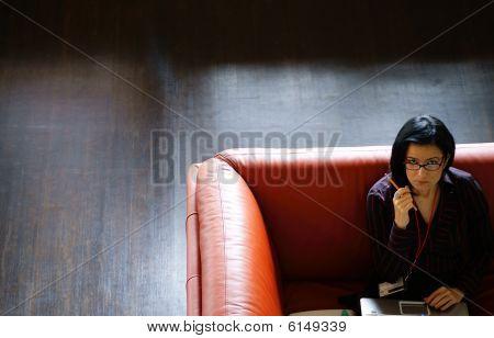 Woman At Work01