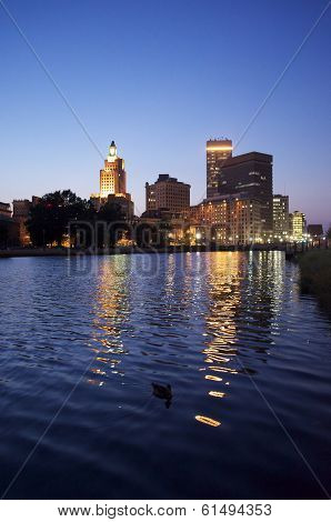 Providence Skyline from the Providence River