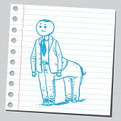 pic of centaur  - Centaur businessman - JPG