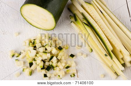 Fresh Marrow Or Courgette
