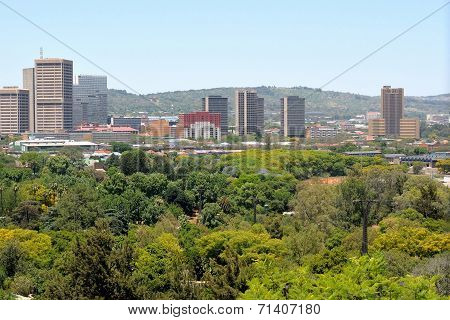 Pretoria Central Business Area