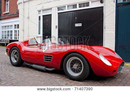 Red sportscar
