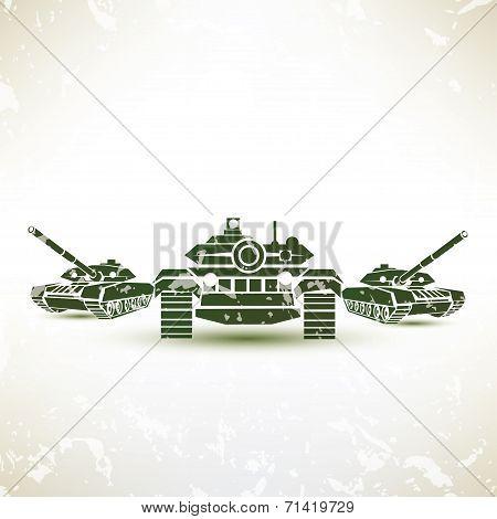Military Tank Symbol