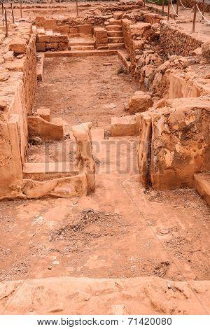 Excavations Of Malia Palace