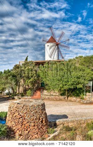 Es Mercadal Windmill