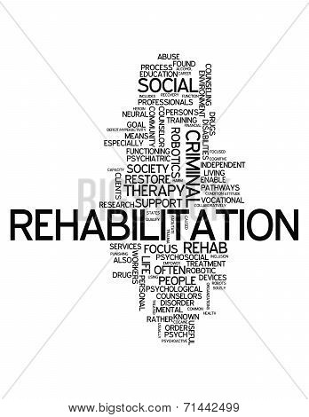 Word Cloud Rehabilitation