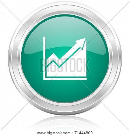 histogram internet icon