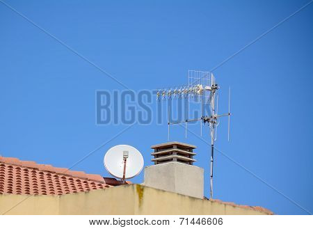 Antennas And Chimney