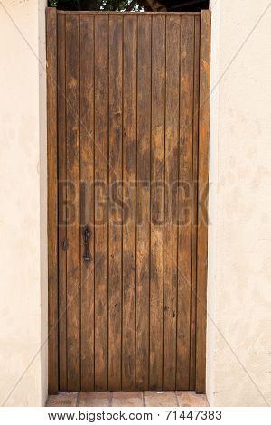 Door View Outdoors From House