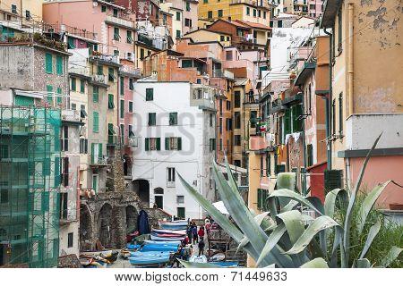 Italy, Cinque Terre.