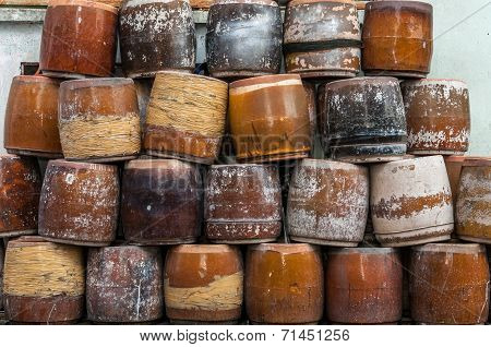 Clay jars for sale