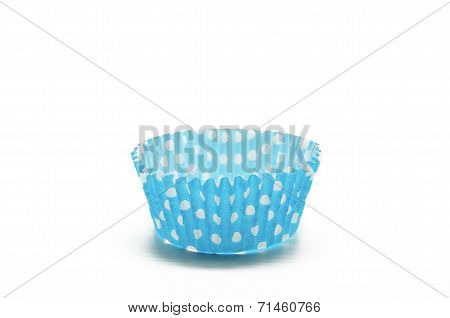 Paper case blue for cupcakes
