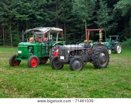 Historic Tractors