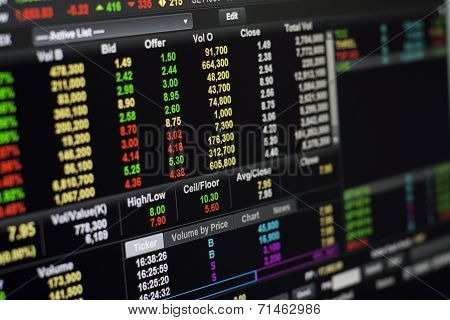 Online Stock Exchange