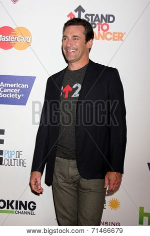 LOS ANGELES - SEP 5:  Jon Hamm at the Stand Up 2 Cancer Telecast Arrivals at Dolby Theater on September 5, 2014 in Los Angeles, CA