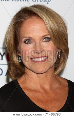 LOS ANGELES - SEP 5:  Katie Couric at the Stand Up 2 Cancer Telecast Arrivals at Dolby Theater on September 5, 2014 in Los Angeles, CA