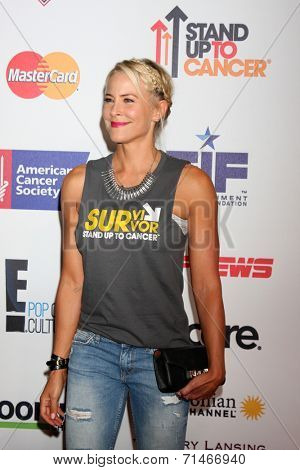 LOS ANGELES - SEP 5:  Brittany Daniel at the Stand Up 2 Cancer Telecast Arrivals at Dolby Theater on September 5, 2014 in Los Angeles, CA