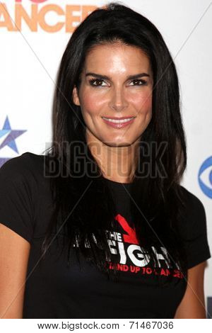LOS ANGELES - SEP 5:  Angie Harmon at the Stand Up 2 Cancer Telecast Arrivals at Dolby Theater on September 5, 2014 in Los Angeles, CA