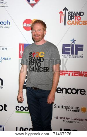 LOS ANGELES - SEP 5:  Jesse Tyler Ferguson at the Stand Up 2 Cancer Telecast Arrivals at Dolby Theater on September 5, 2014 in Los Angeles, CA